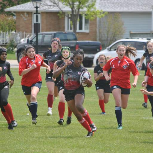 Sydney Johnson '16 trading in Cardinal Red for Big Green and Division 1 Rugby at Dartmouth