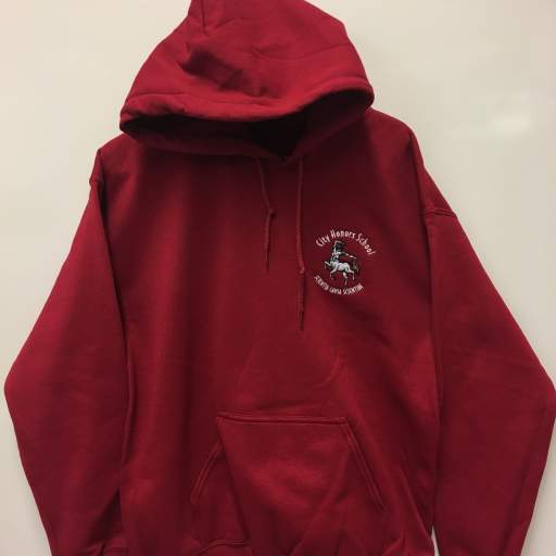 $30 | Cardinal Pullover Hoodie (Also available in Full Zip)