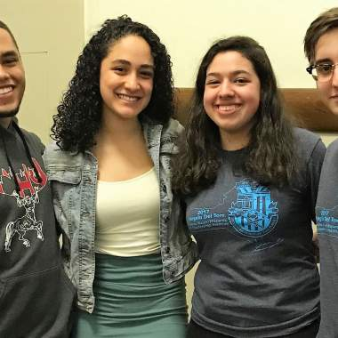 Four Students Participate in Puerto Rican State Legislature & Youth Leadership Institute